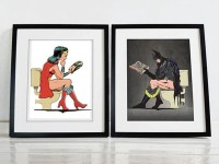 Humorous Superhero Wall Art - Awesome Stuff 365