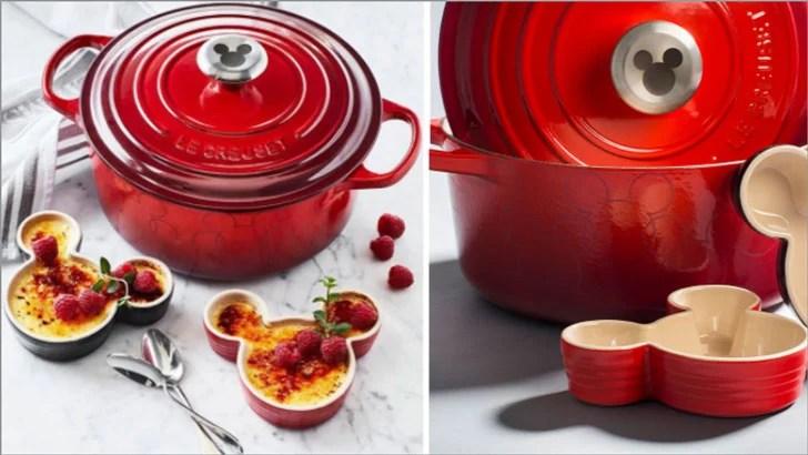 Le Creuset Mickey Mouse Cookware  Awesome Stuff 365