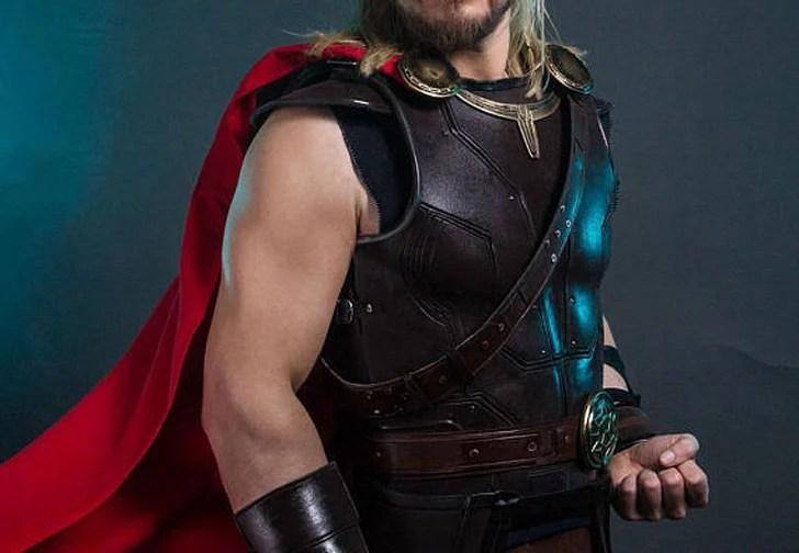 Traje de armadura de Thor Ragnarok Cosplay
