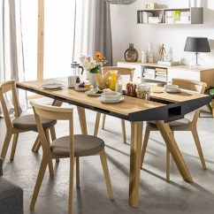 Unique Kitchen Tables Best Stoves 40 Coolest Dining You Can Buy Awesome Stuff 365 Vox Oak Table With Built In Trivet