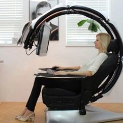 Chair Lumbar Support Revolving Repair Near Me Droian Ergonomic Computer Workstation - Awesome Stuff 365