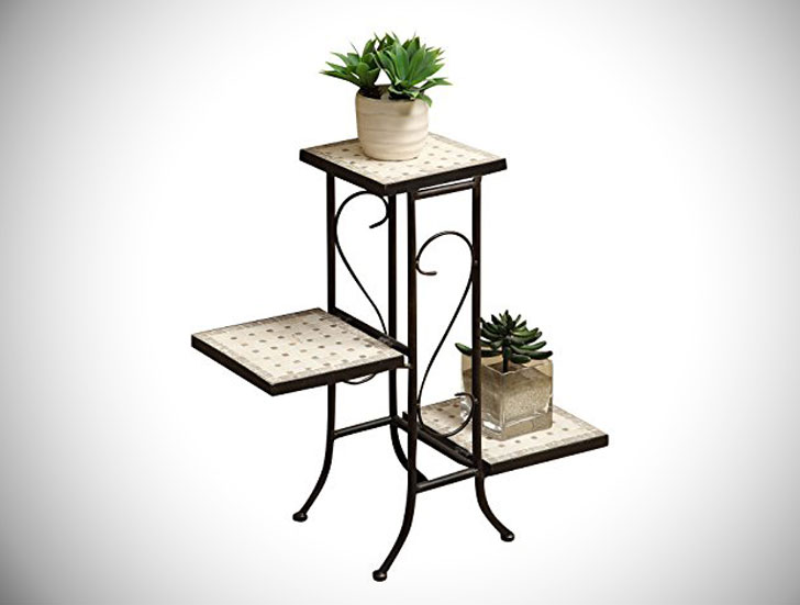 Travertine Plant Stands