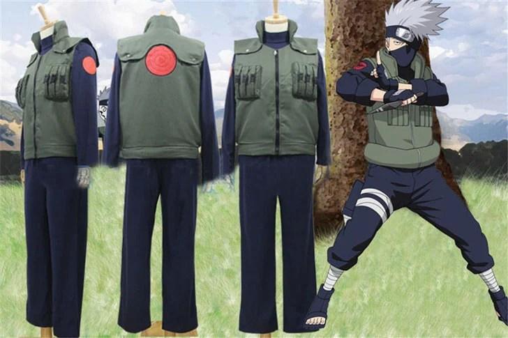 Naruto Hatake Kakashi Anime Cosplay