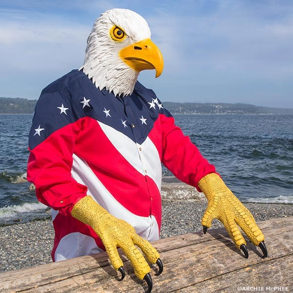 Bald Eagle Mask with Talons  Awesome Stuff to Buy
