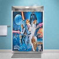 Star Wars Shower Curtain