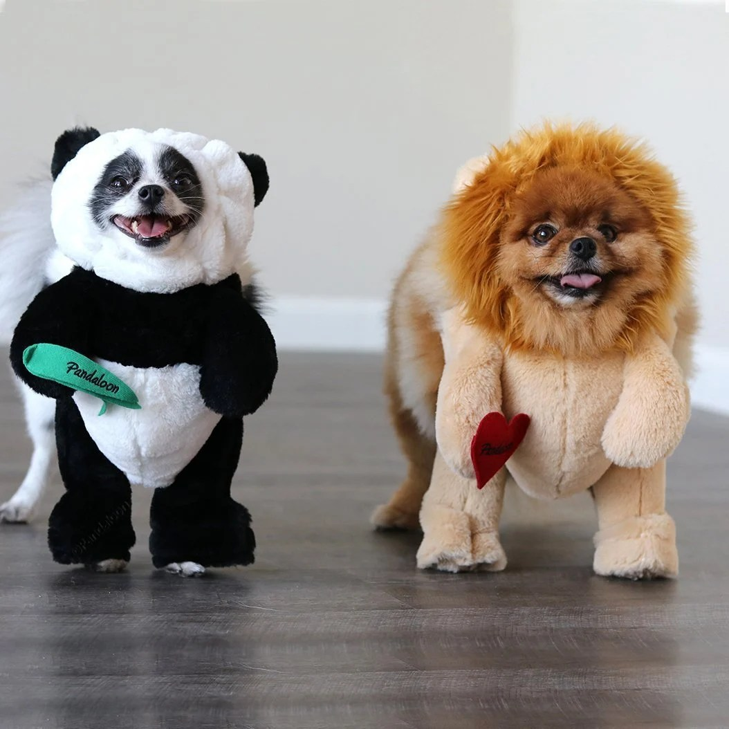 Panda Costume for Dogs