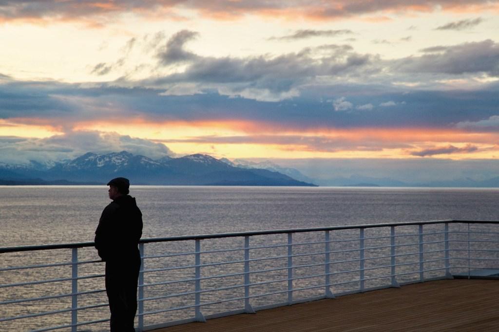 Stunning vista's from the deck of Oceania's Regatta
