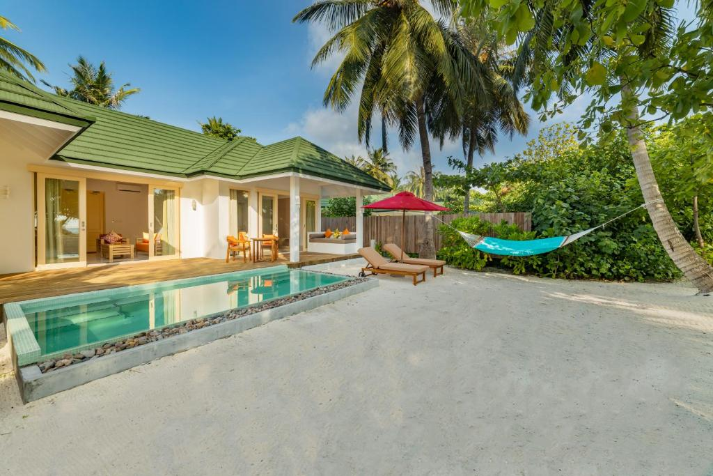 Family Beach Villa with Pool at Siyam World Resort Maldives