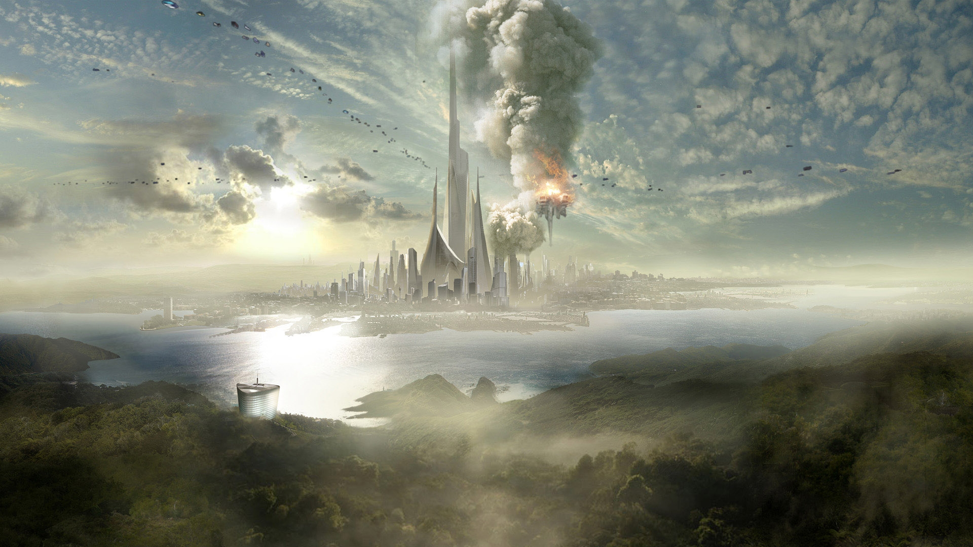 D Fantasy Places Hd Wallpapers 1920x1080 Space Fantasy Wallpaper Set 83 171 Awesome Wallpapers
