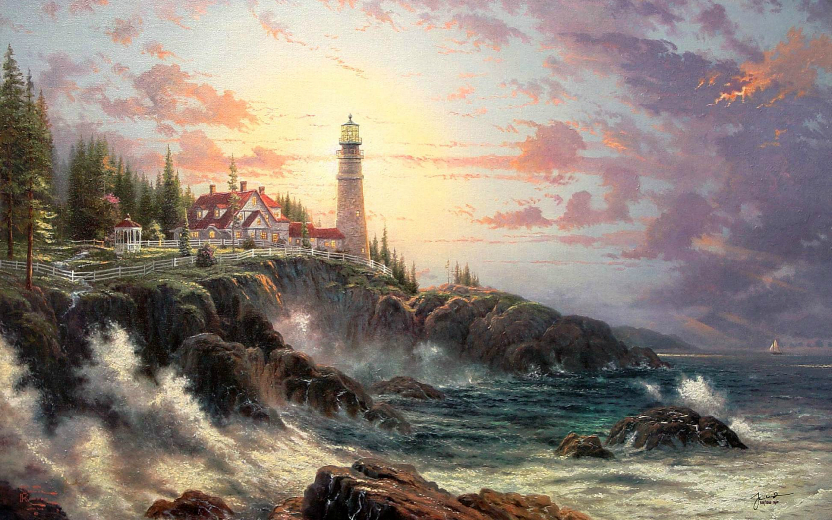 Thomas kinkade screensavers