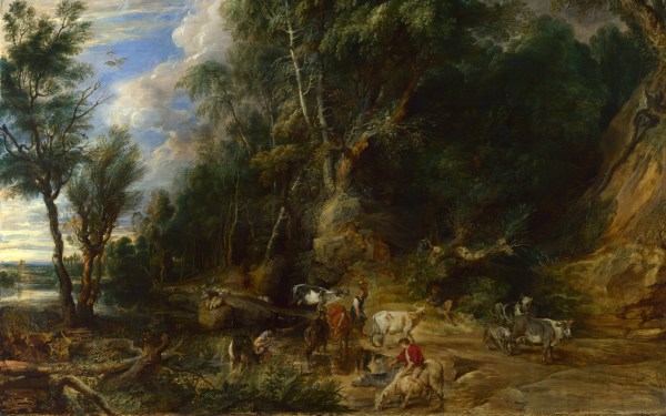 Peter Paul Rubens the Watering Place