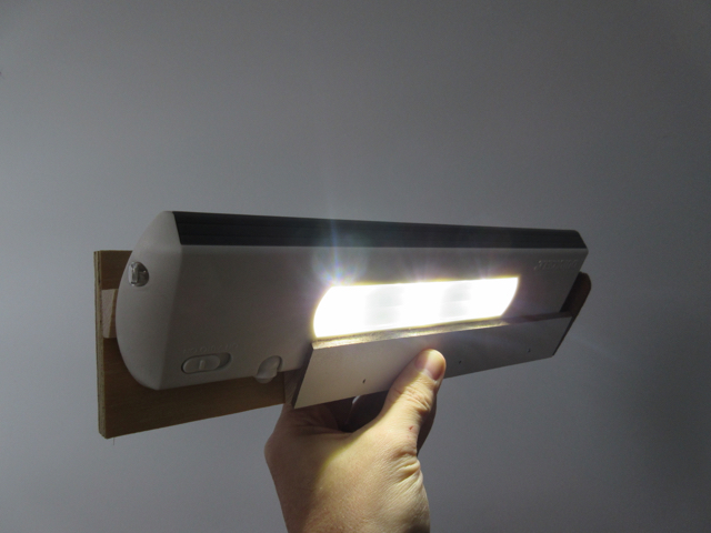 Closet Mounting Bracket for Motion Sensing LED Light