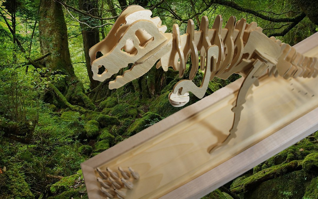 Bowling T-Rex Dinosaur Skeleton