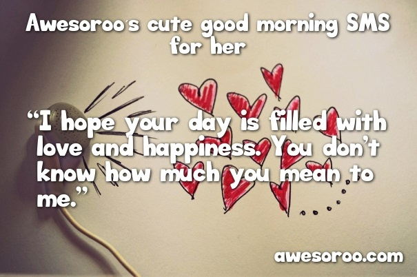 Morning Message Him