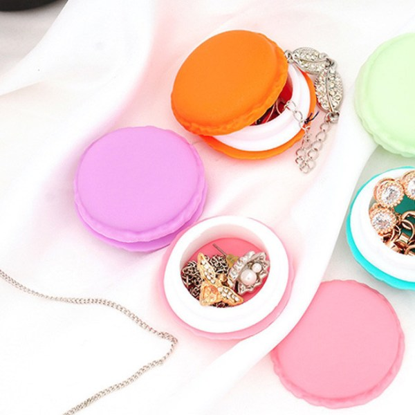 candy color Macaron storage box