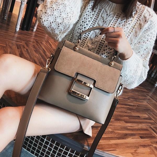 Women Handbags Metal Hasp Female Shoulder Bags