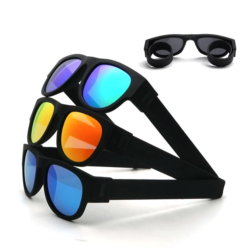 Novelty Mirror Men Polarized Folding Sunglasses 1