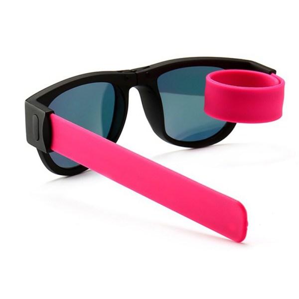 Novelty Mirror Men Polarized Folding Sunglasses2