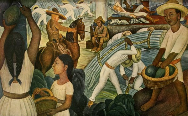 Art Diego Rivera 1886-1957 Mexican Painter