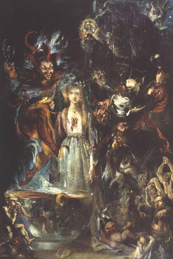 Dark Romanticism Art Paintings