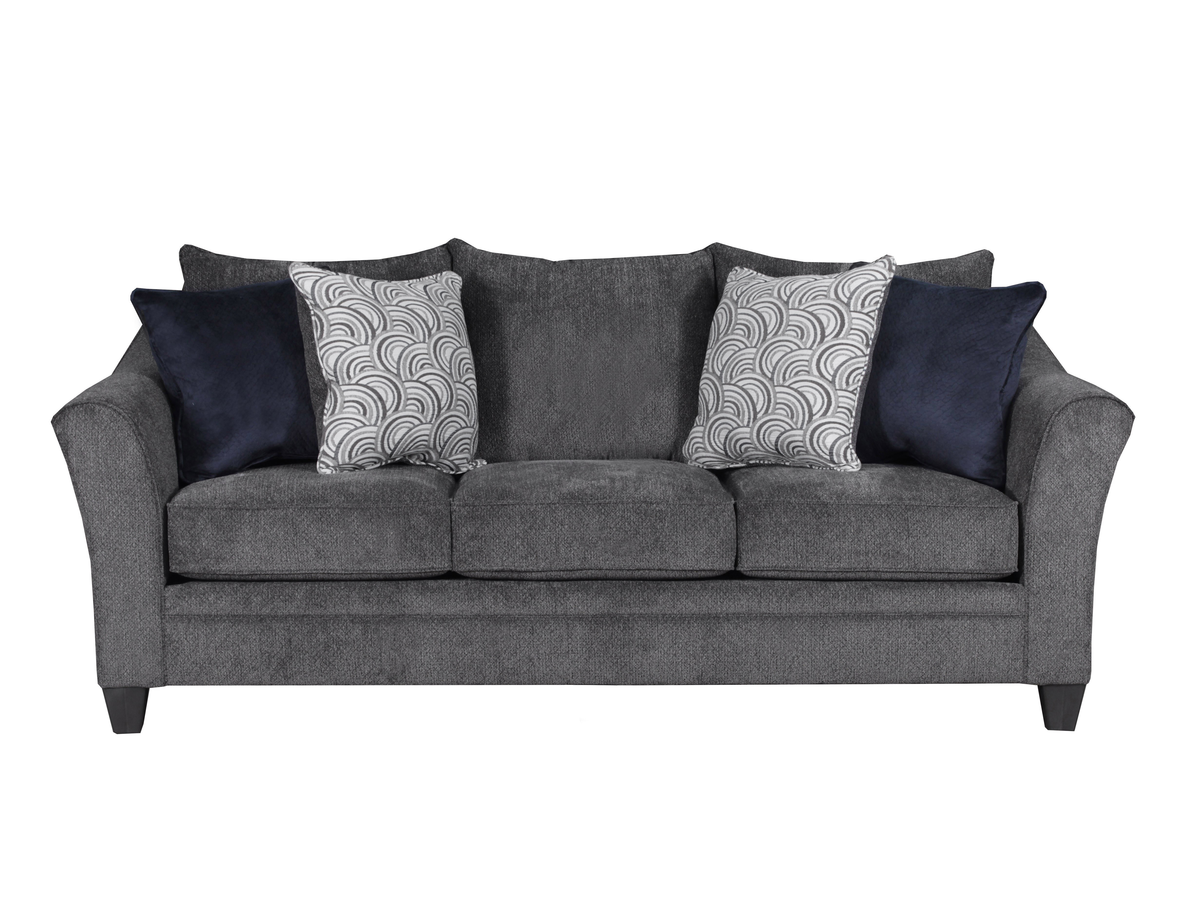 chenille sofa fabric care small sleeper modern 6485 albany pewter – awfco catalog site