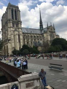 Notre Dames from the bus