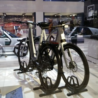 Volkswagen showroom - bikes