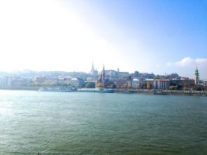 The beautiful skyline of Buda