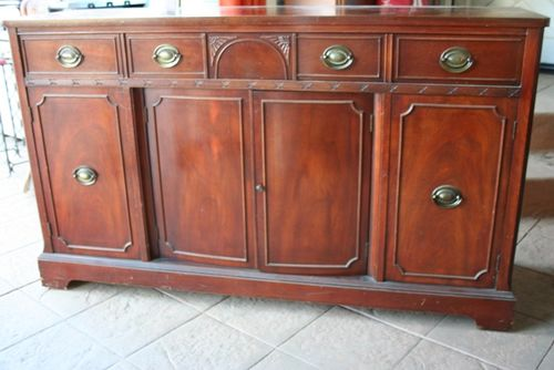 sears kitchen remodel upholstered counter stools remodel; convert a dresser into island!
