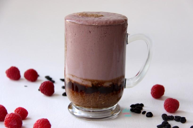 Raspberry Latte Smoothie (with Vega Protein Smoothie, Viva Vanilla)