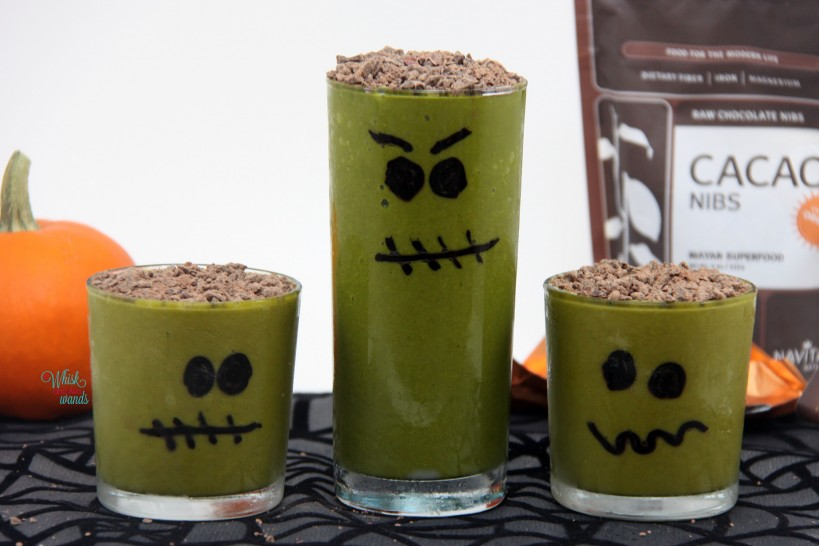 Frankenstein Smoothies