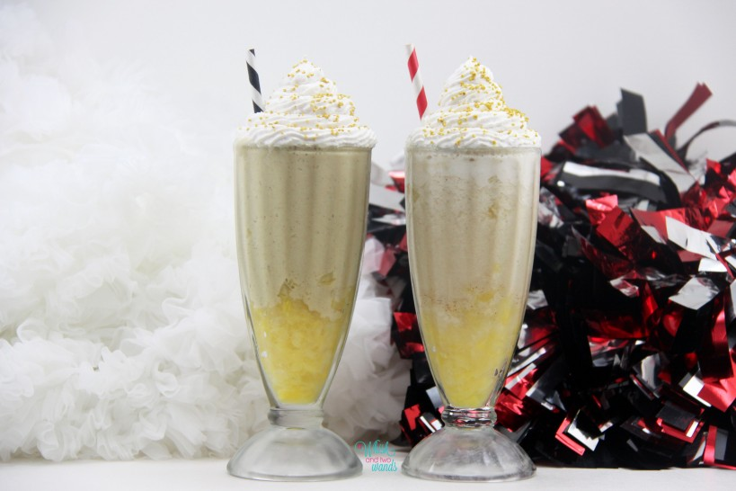 Shake It Off Shake Protein version and whole food fruit and coconut milk version.