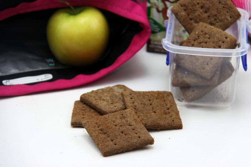... Crackers aka Graham Crackers (vegan, gluten free, nut free, soy free
