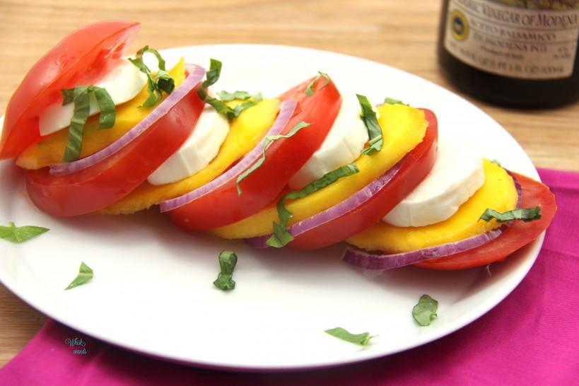 Mango Caprese Salad -