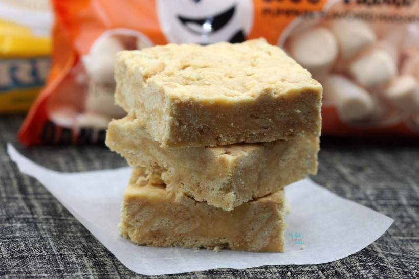 Pumpkin Marshmallow Oreo Bars