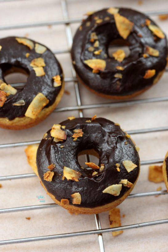 Elvis Mini Protein Donuts (vegan and gluten free)