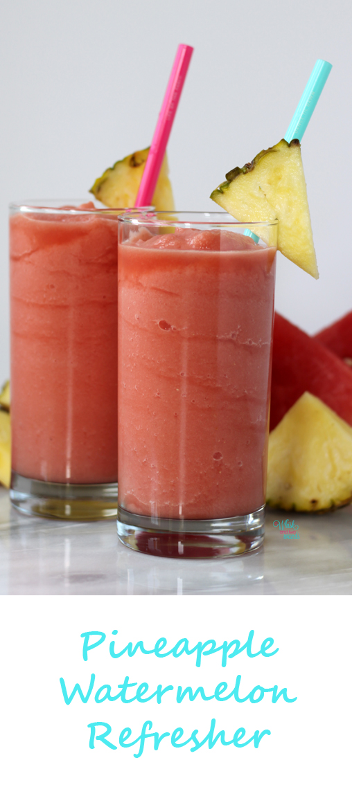 Pineapple Watermelon Refresher, A Whisk and Two Wands
