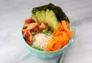Spicy Salmon Rice Bowl