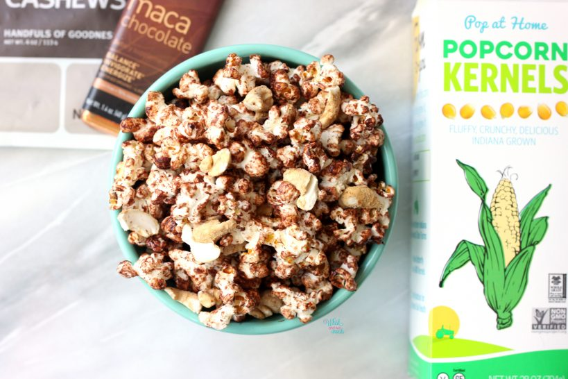 Maca Maple Cashew Popcorn WM2