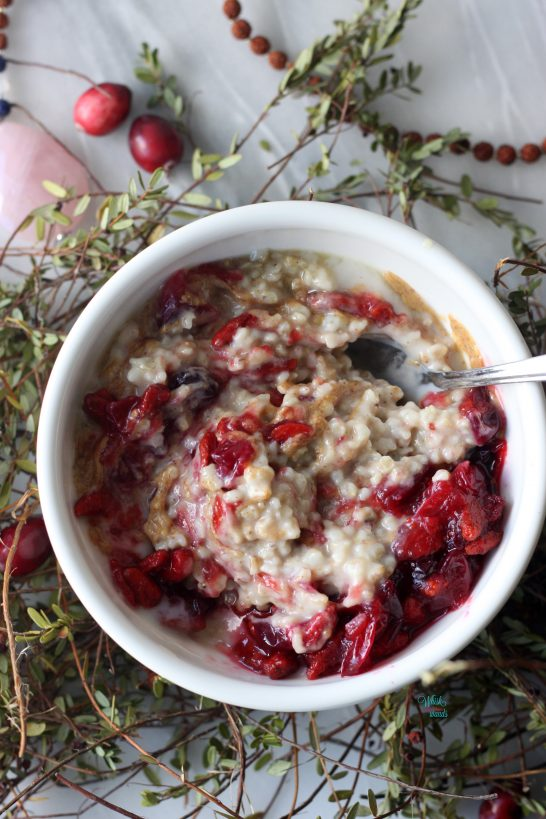 Cranberry Superfood Oatmeal