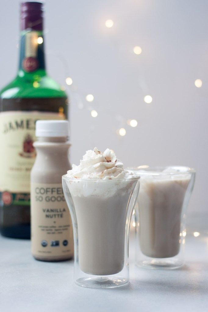 Irish Cream Coffee So Good Cocktail (dairy free, vegan, gluten free)