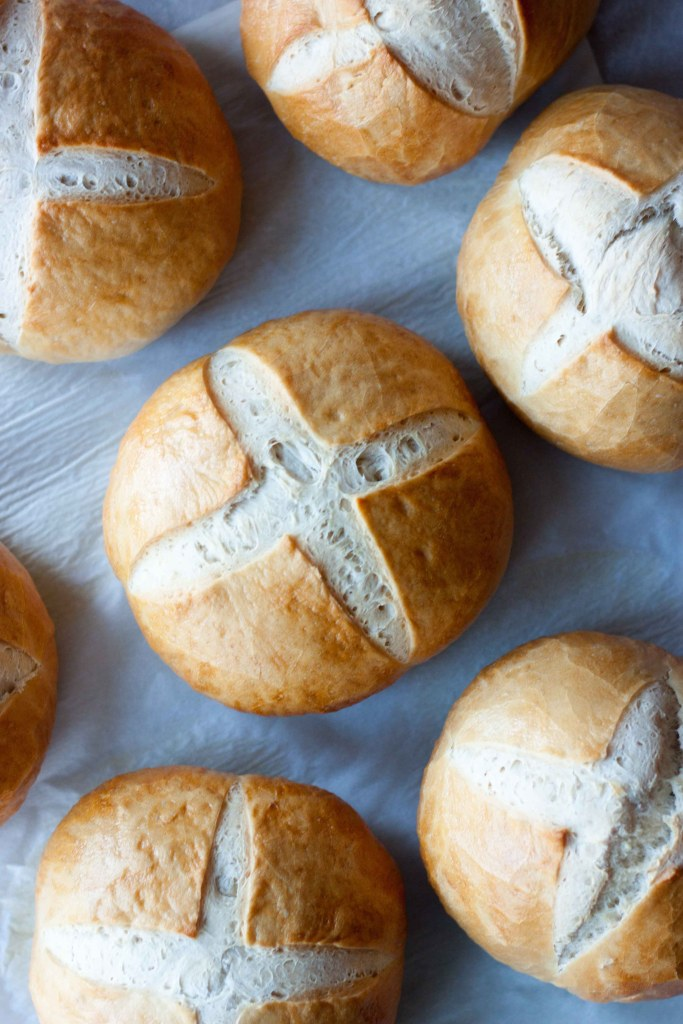 Sourdough Bread Bowls, A Whisk and Two Wands
