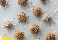 Lemon Berry Coconut Chia Balls
