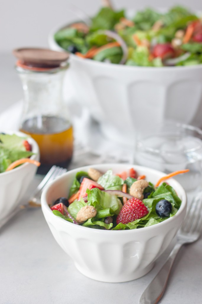 Spring Berry Romaine Salad