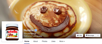 nutella-business-facebook-page