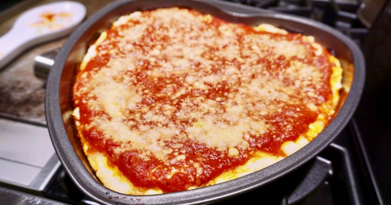 Classic Chicago Deep Dish Pizza