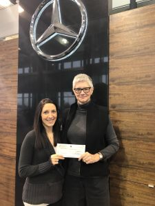 Mercedes Benz Donation