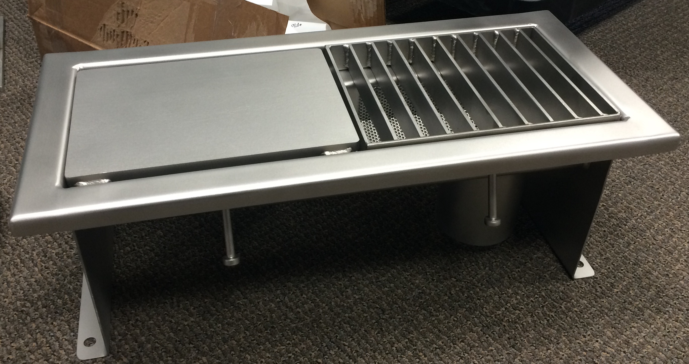 Stainless Steel Trench Drains  Custom designs and