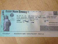 Tax Refund: Tax Refund By Check