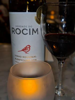 Bottle of Rocim Alicante Bouschet wine